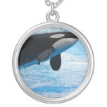 Whale Jumping Necklace